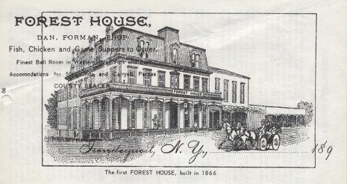 The first Forest House